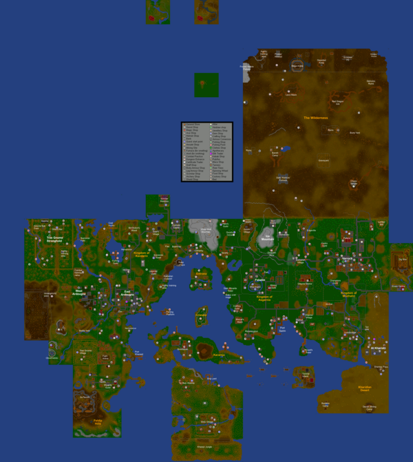 RuneScape Clic Map - The RuneScape Clic Wiki - The wiki about ... on united states map, editable map, flat global map, can i highlight map,